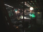 Bottletree greenroom - vast and full of character.
